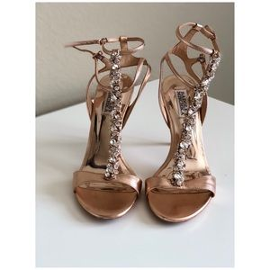Gently Used Badgley Mischka Highheels Sandals